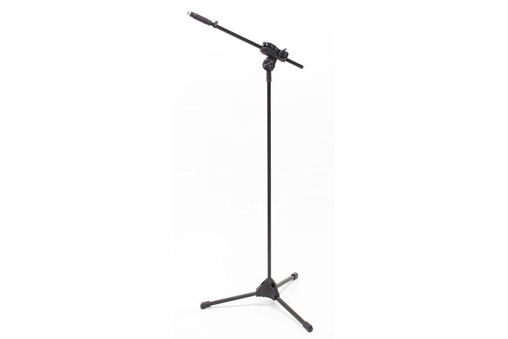Suporte preto para microfone + cachimbo - Ibox (SMLight) (M7)  - Luthieria Brasil