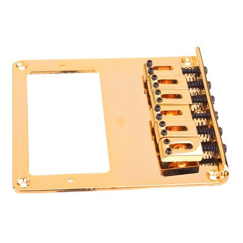 Ponte Dourada estilo Telecaster p/ captador duplo para guitarra - Spirit (EG16-GD)  - Luthieria Brasil