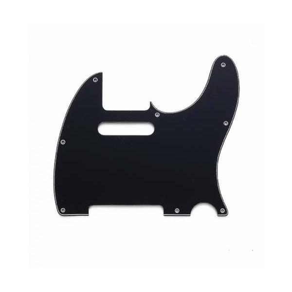 Escudo para Guitarra Telecaster Preto - 3 camadas (sanduíche) - Spirit (X310-BK)  - Luthieria Brasil