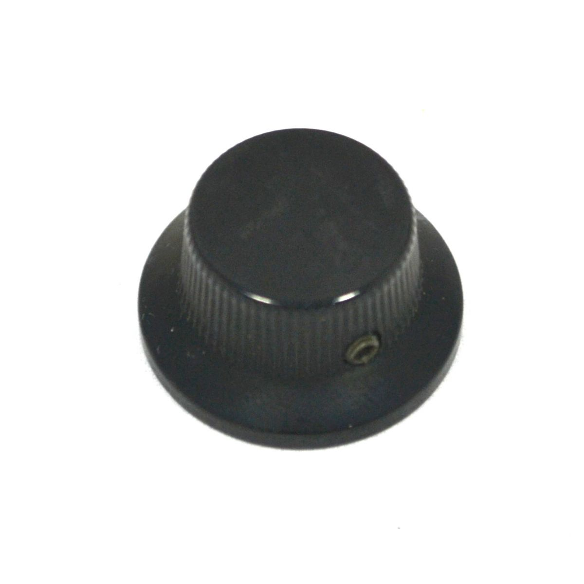 Knob Metal (Tipo Sino) Preto c/ Parafuso Allen  - Luthieria Brasil