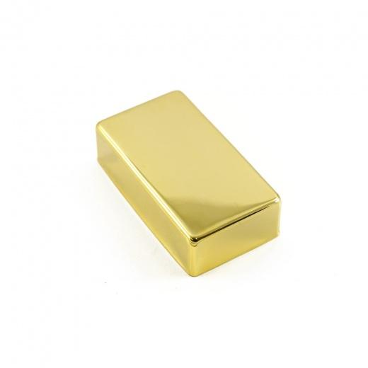 Cover (capa) dourado de metal para Humbucker fechado - Sung il (PC1700GD)  - Luthieria Brasil