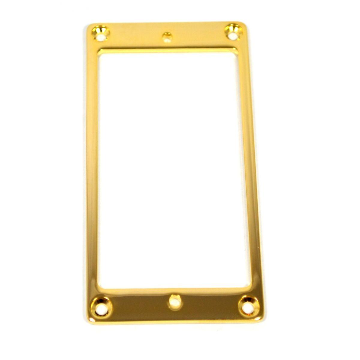 Moldura dourada de metal para captador humbucker - Sung Il (PR 8945)  - Luthieria Brasil