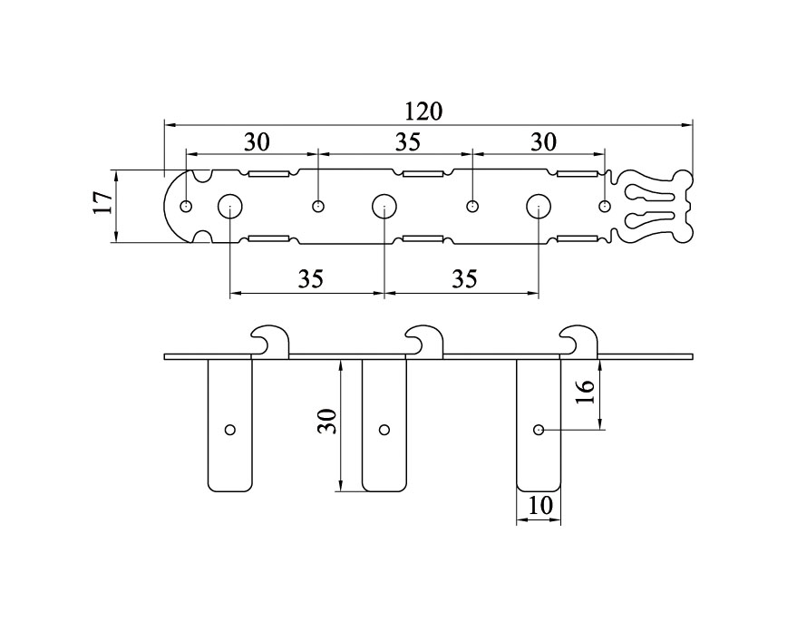 Tarraxa dourada pino grosso com botão branco para violão 6 cordas - Der Jung (DJ214-GD)  - Luthieria Brasil