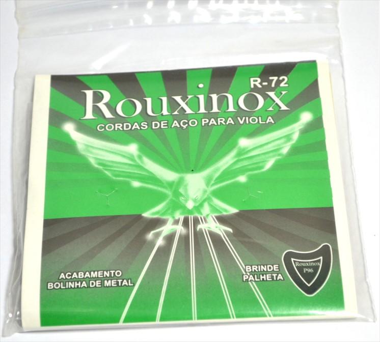 Encordoamento Rouxinol R-72 para Viola (Linha Econômica)  - Luthieria Brasil