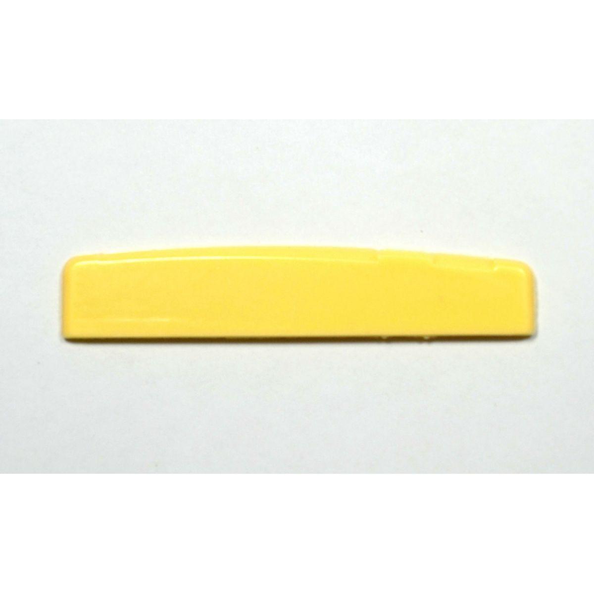 Rastilho com compensação de oitava de plástico para violão/viola (3mm x 12mm x 77mm)  - Luthieria Brasil
