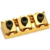 Nut dourado com trava para Floyd Rose (Lock nut) - 43mm - Sung Il (PL002)  - Luthieria Brasil