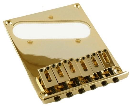 Ponte Dourada estilo Telecaster para guitarra - Sung-il (BT001)  - Luthieria Brasil