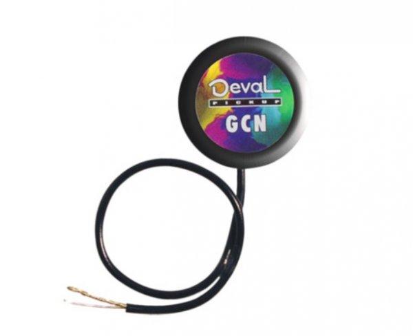 Captador de contato simples passivo com volume para instrumentos de corda - Nylon -  Deval (Modelo GPSN)  - Luthieria Brasil