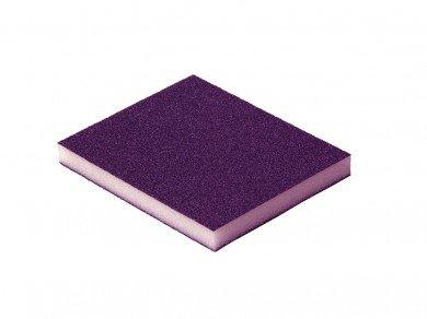 Esponja abrasiva roxa (Grão 100) (Zircônio)  - Luthieria Brasil