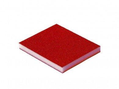 Esponja abrasiva Vermelha (Grão  80) (Cerâmico)  - Luthieria Brasil