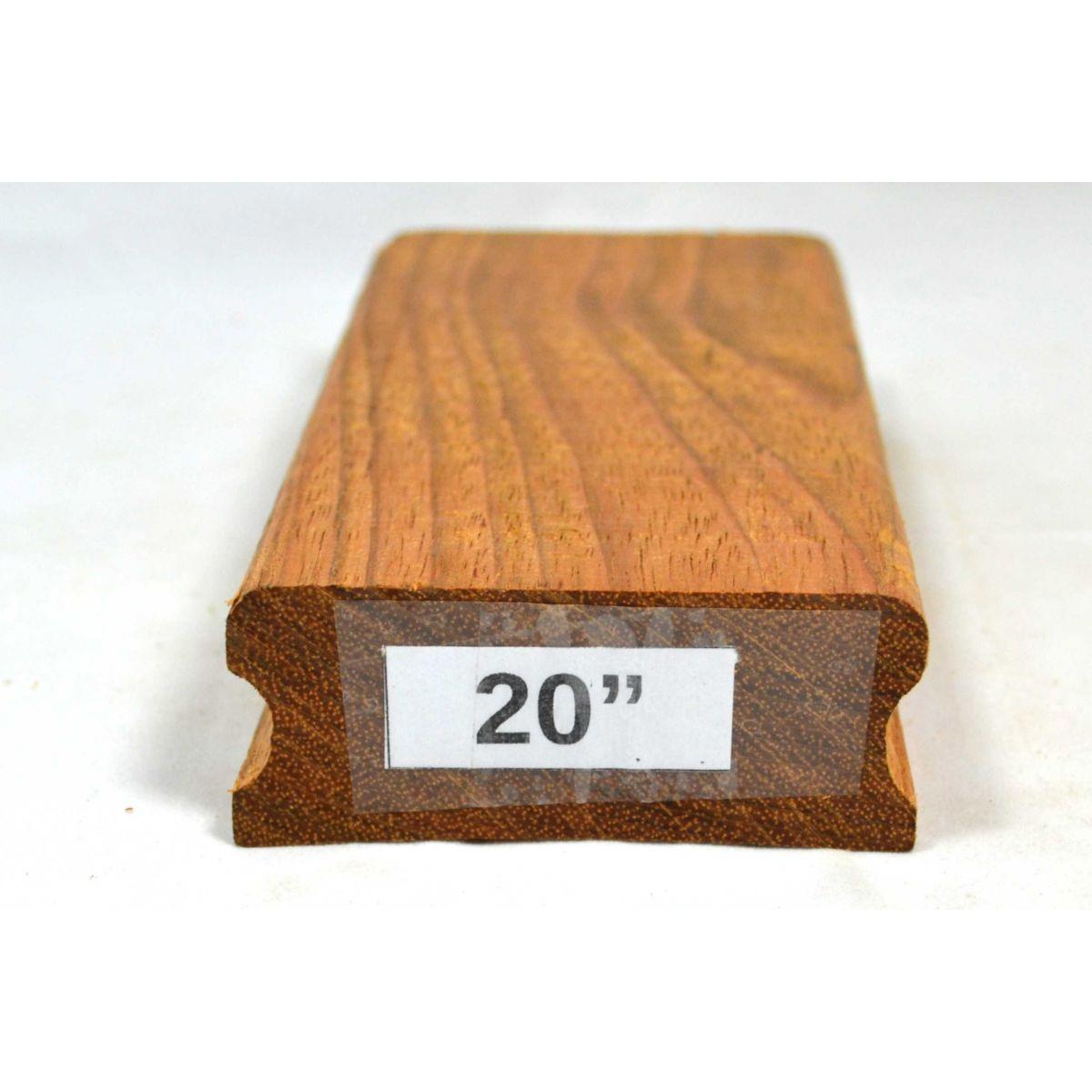 """Taco de raiar escala (unidade) com o raio de 20"""" (16cm x 7,5cm)  - Luthieria Brasil"""