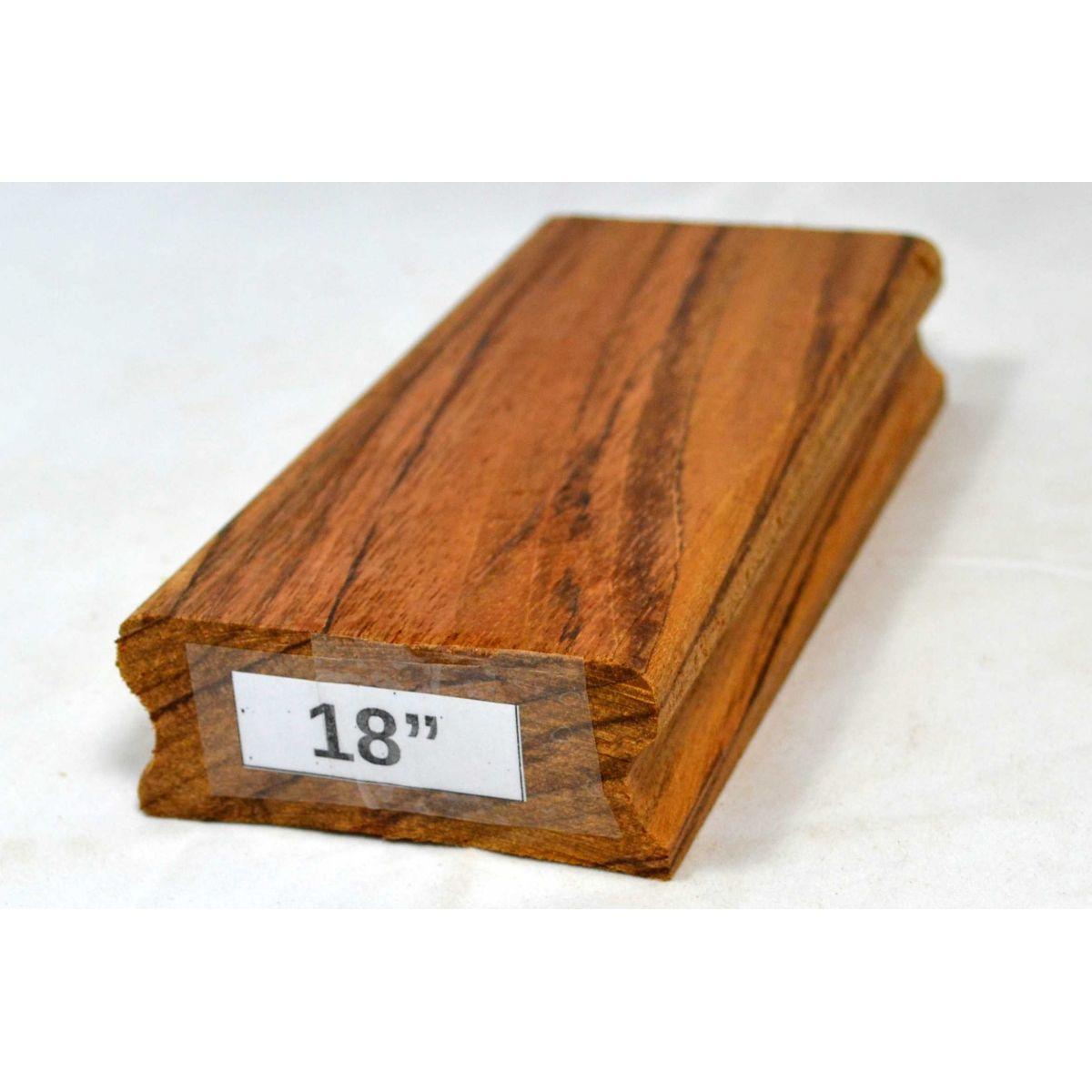 """Taco de raiar escala (unidade) com o raio de 18"""" (16cm x 7,5cm)  - Luthieria Brasil"""