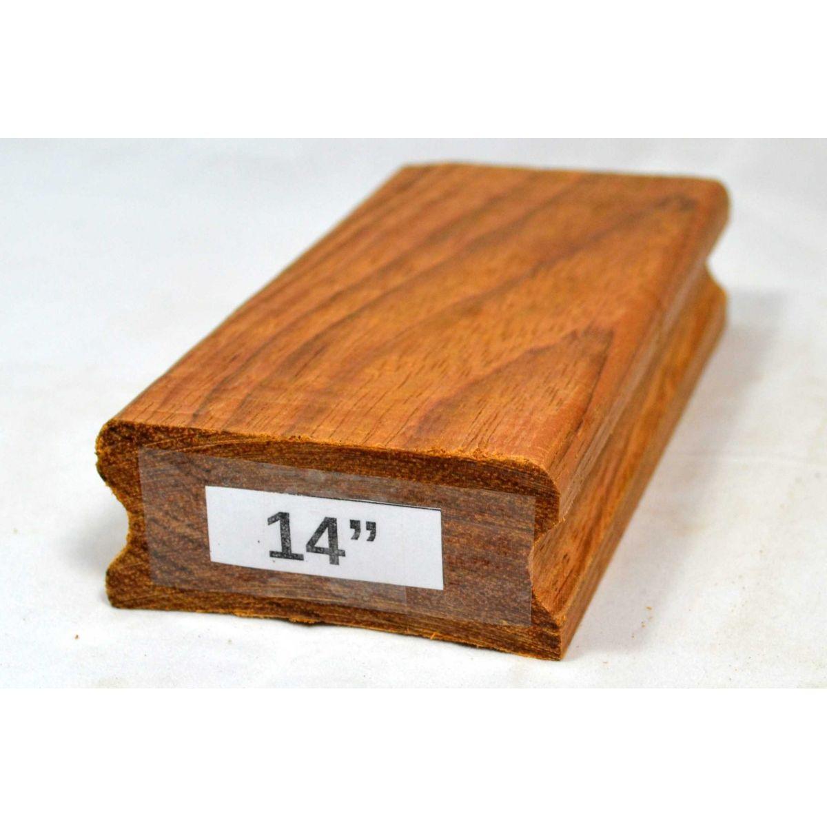 """Taco de raiar escala (unidade) com o raio de 14"""" (16cm x 7,5cm)  - Luthieria Brasil"""