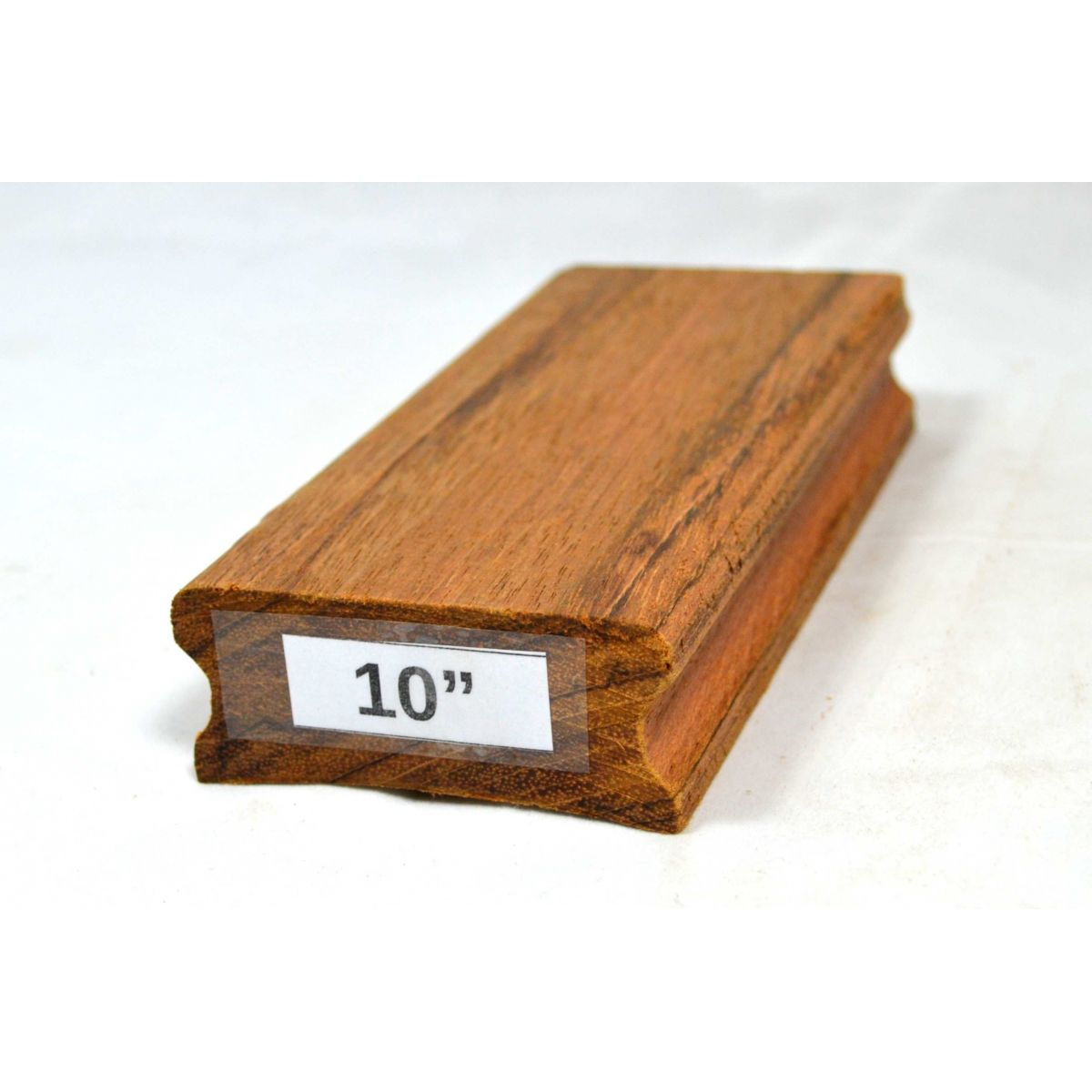 """Taco de raiar escala (unidade) com o raio de 10"""" (16cm x 7,5cm)  - Luthieria Brasil"""