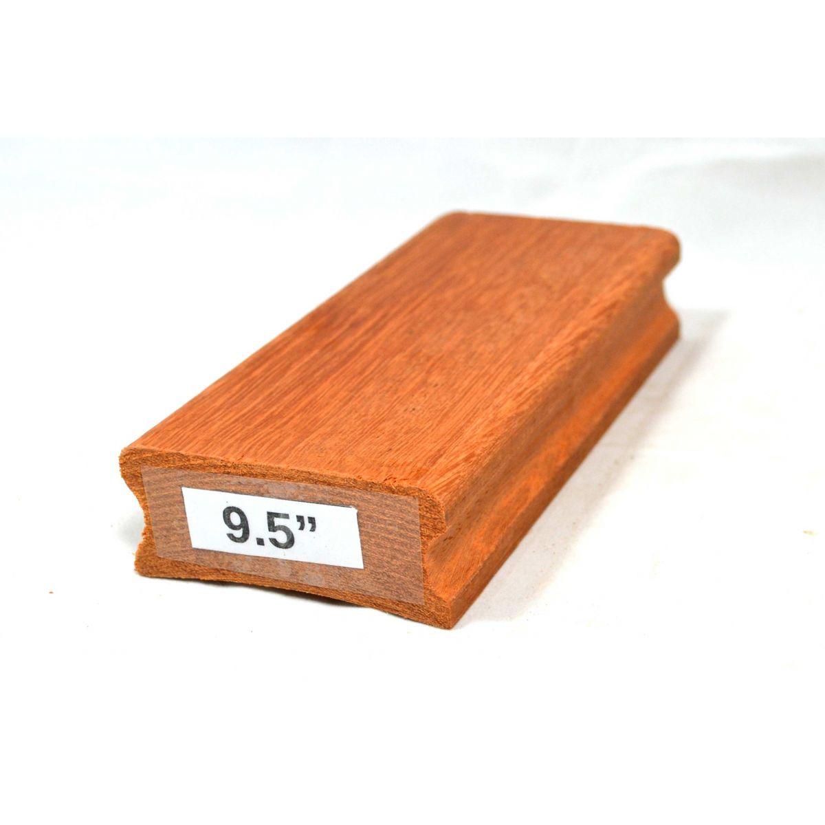 """Taco de raiar escala (unidade) com o raio de 9,5"""" (16cm x 7,5cm)  - Luthieria Brasil"""