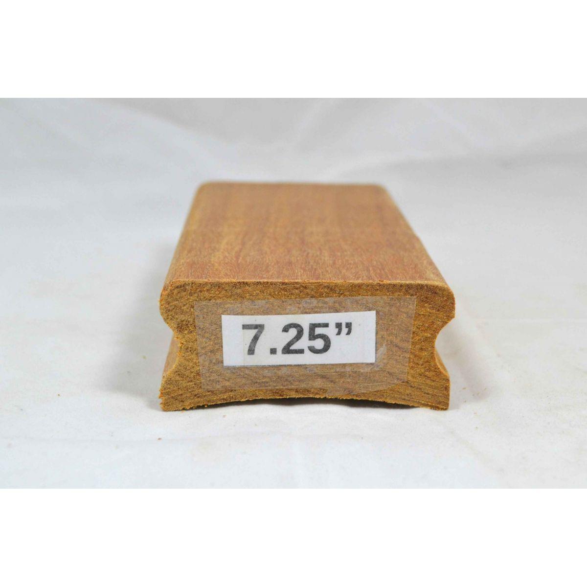 """Taco de raiar escala (unidade) com o raio de 7,25"""" (16cm x 7,5cm)  - Luthieria Brasil"""