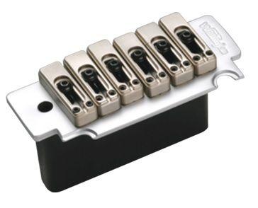 Ponte Cromada Tremolo 2 pivôs para Guitarra (Bloco 40mm) - Wilkinson by Sung-il (WVS50K)  - Luthieria Brasil