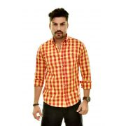 Camisa Social RL Xadrez Colored VR-AMR - Custom Fit