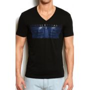 Camiseta Armani Exchange Eagle Box Marinho