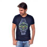 Camiseta Armani Exchange Watch Preta