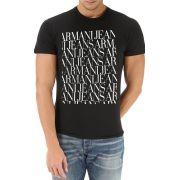 Camiseta Armani Jeans Preta