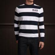 Camiseta Manga longa Hollister Stripes