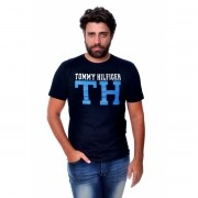 Camiseta TH Mix Preta