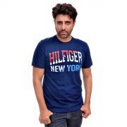 Camiseta TH NY Azul Marinho