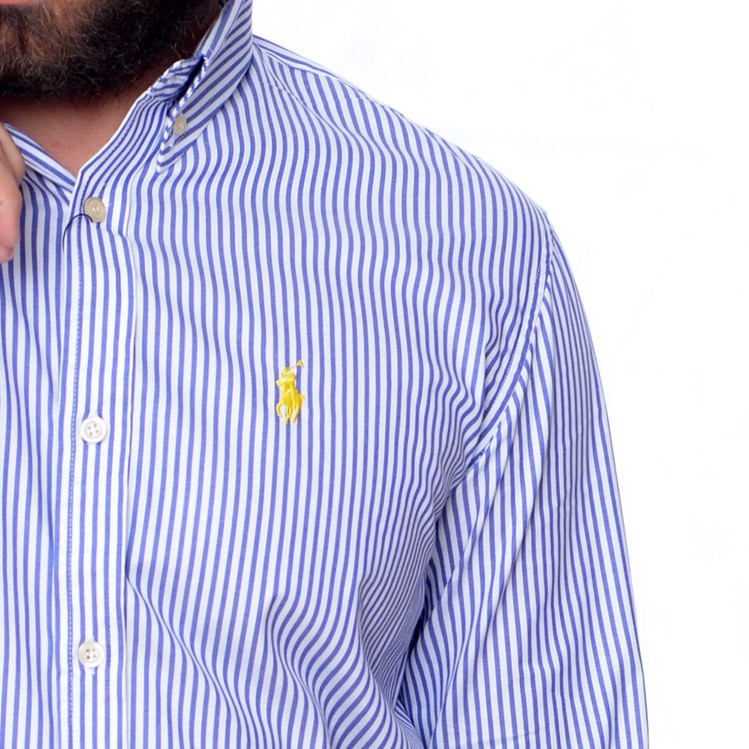 29b8bea676 ... Camisa Social RL Listras A B Stripes - Regular Fit - Ca Brasileira ...