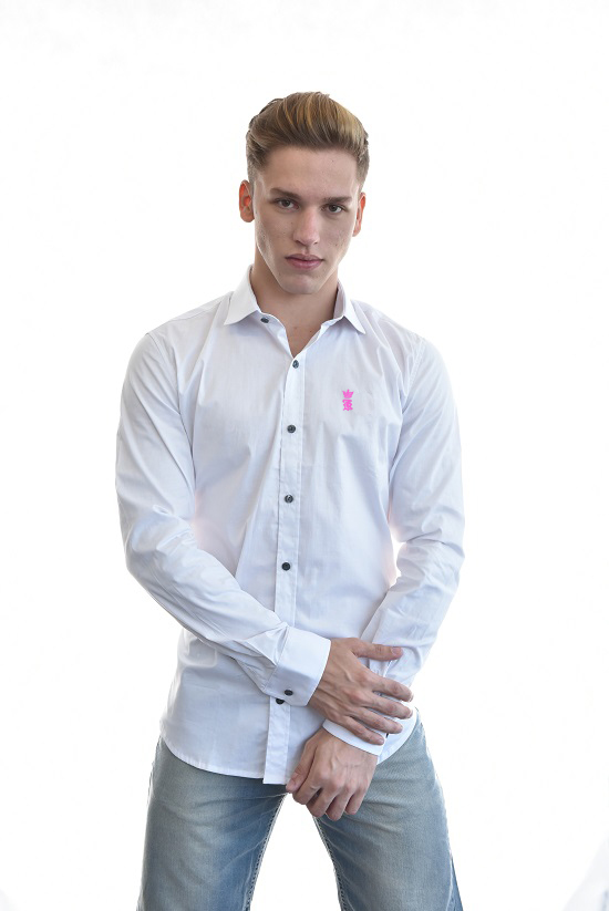 Camisa Social SK Branca Basic  - Ca Brasileira
