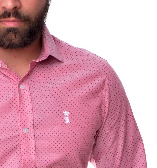 Camisa Social SK Rose  - Ca Brasileira
