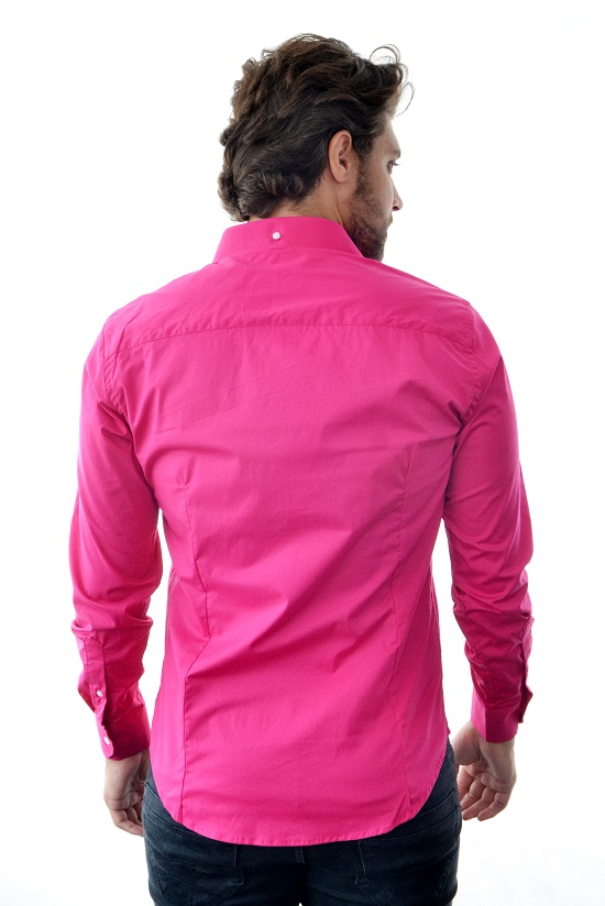 Camisa Social SK Style Pink  - Ca Brasileira