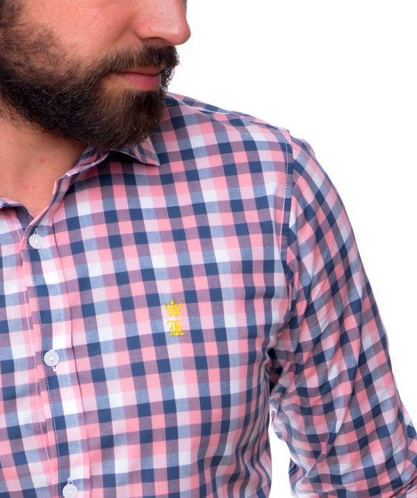 Camisa Social SK Xadrez Mini  - Ca Brasileira