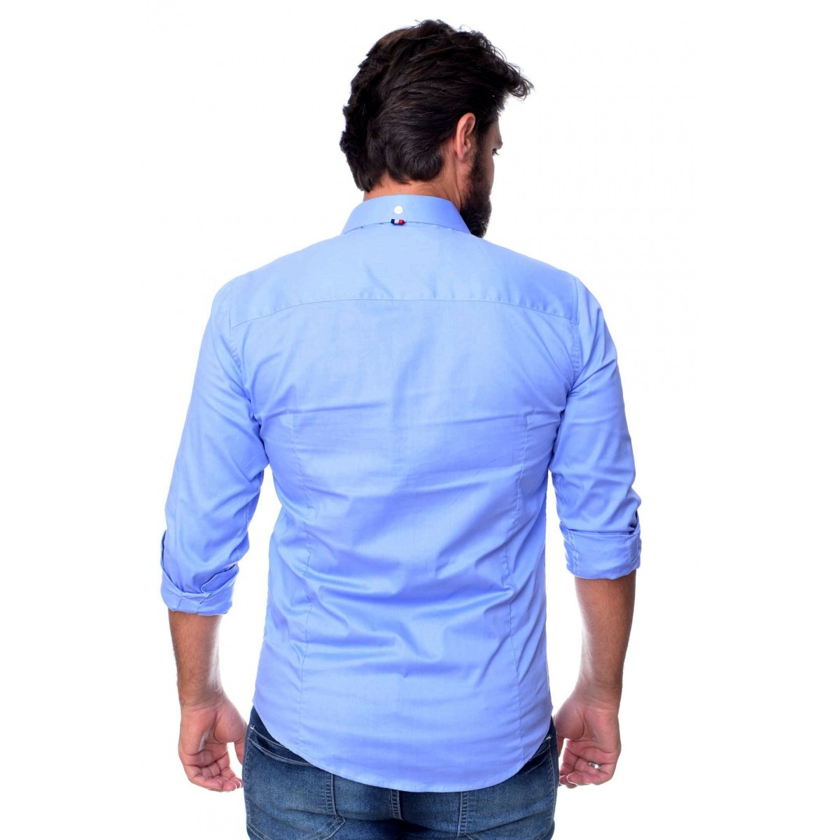 Camisa Social Style Azul  - Ca Brasileira