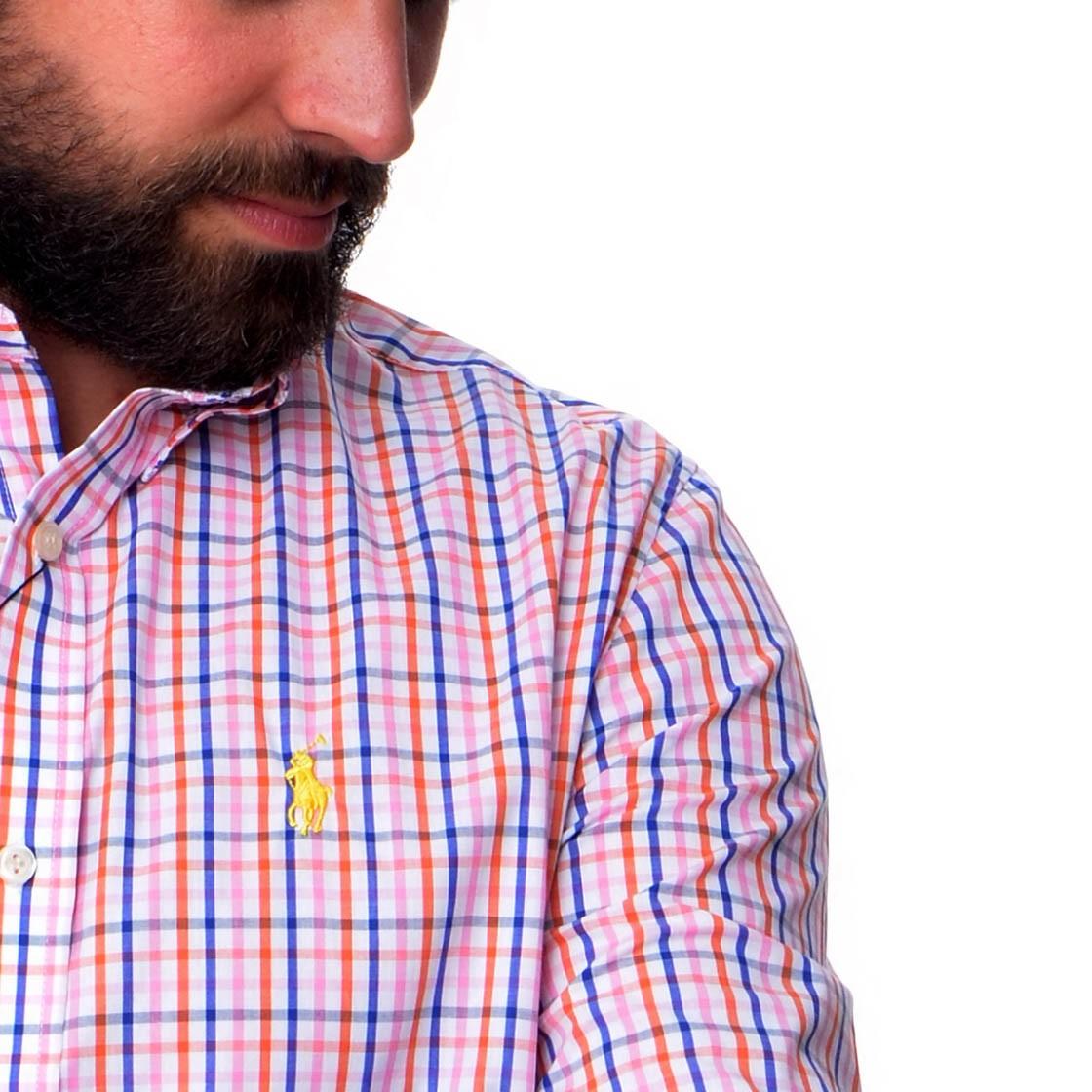 Camisa Social Xadrez RL Xadrez Mini - Regular Fit  - Ca Brasileira