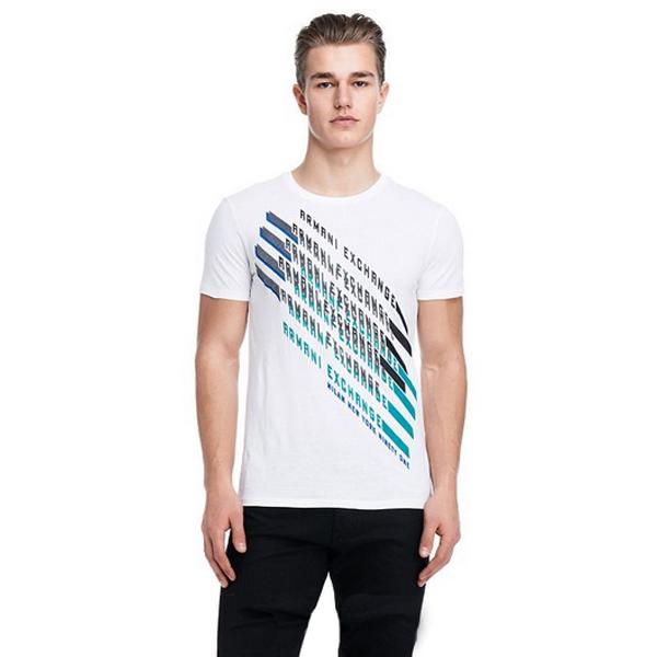Camiseta Armani Exchange Slt Branca  - Ca Brasileira