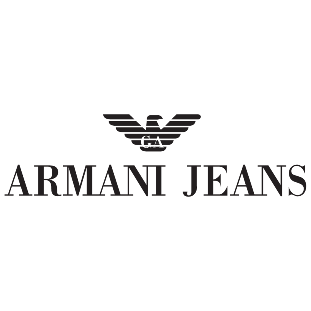 Camiseta Armani Jeans Preta  - Ca Brasileira
