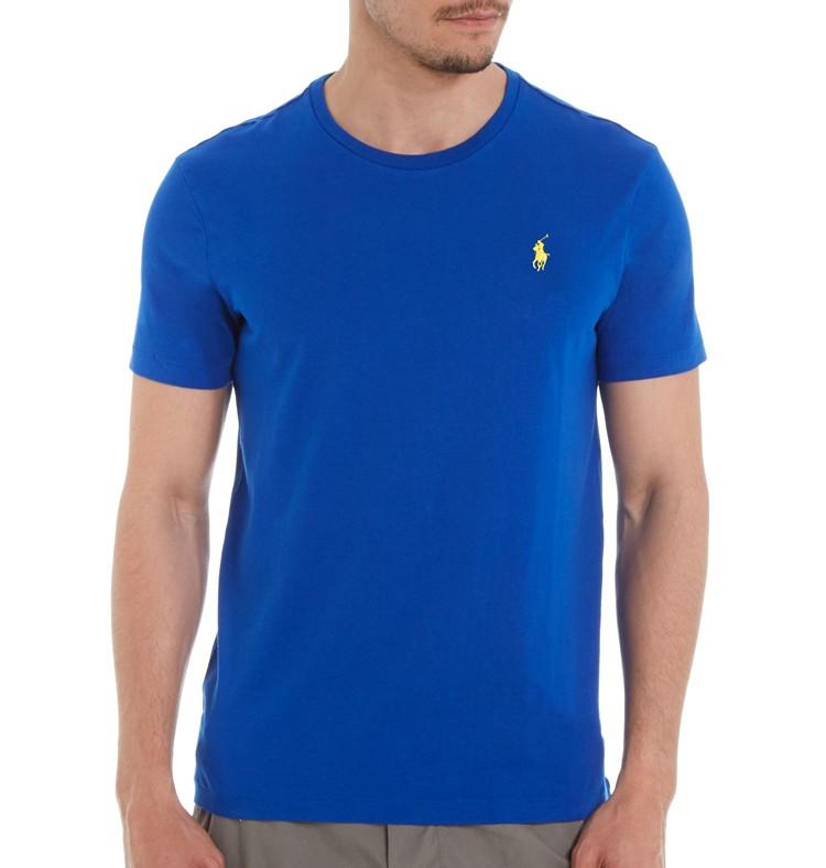 Camiseta Basic Ralph Lauren Royal   - Ca Brasileira