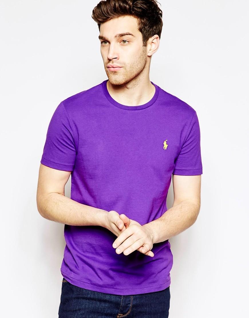 Camiseta Basic RL Lilas   - Ca Brasileira