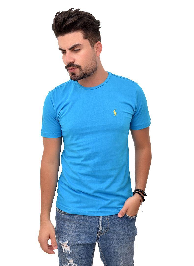 Camiseta Basic RL Turquesa