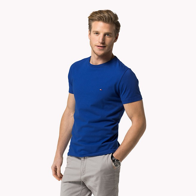 Camiseta Basic TH Azul Royal