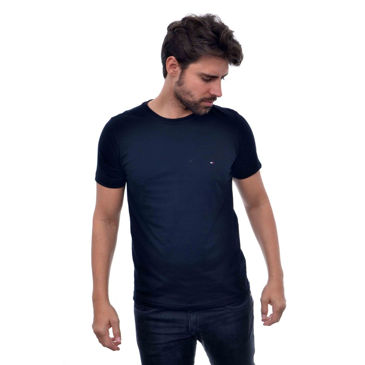 Camiseta Basic TH Azul Marinho