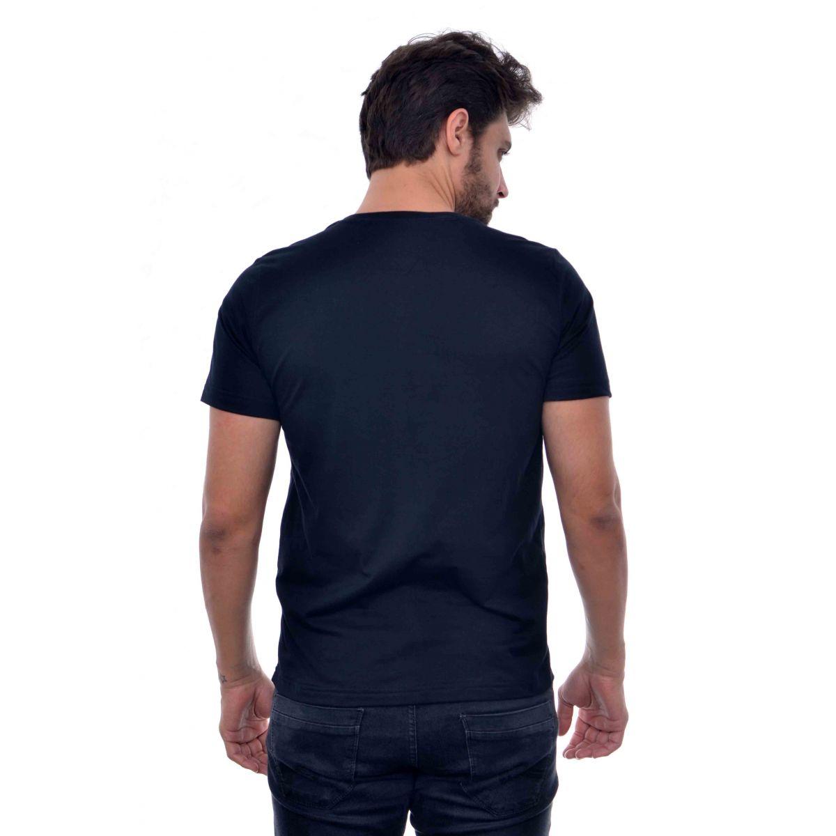 Camiseta Basic TH Azul Marinho  - Ca Brasileira
