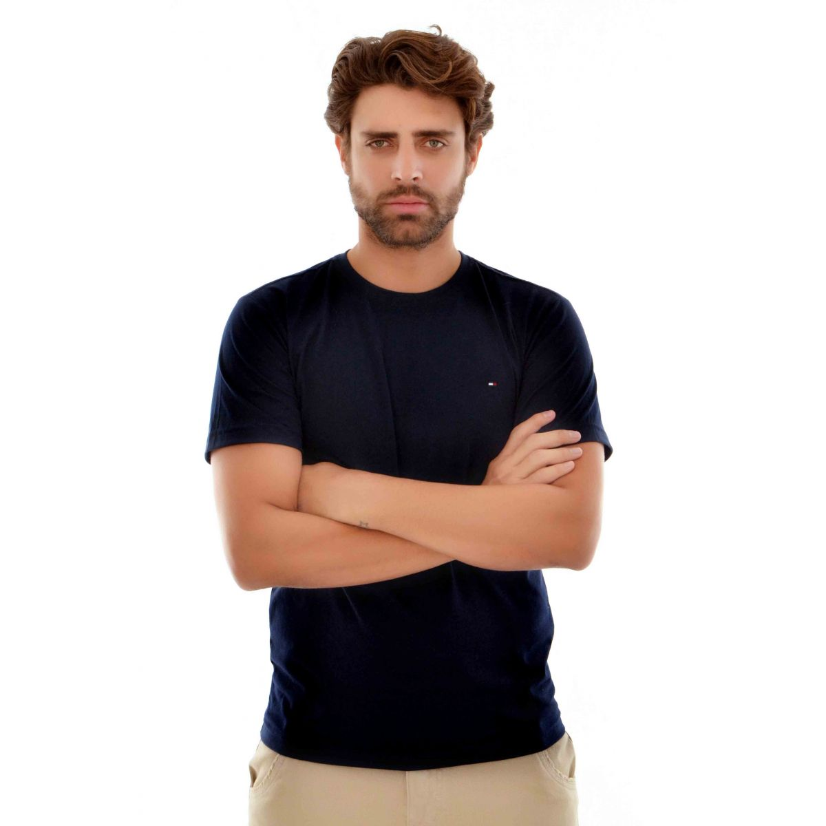 Camiseta Basic TH Preta