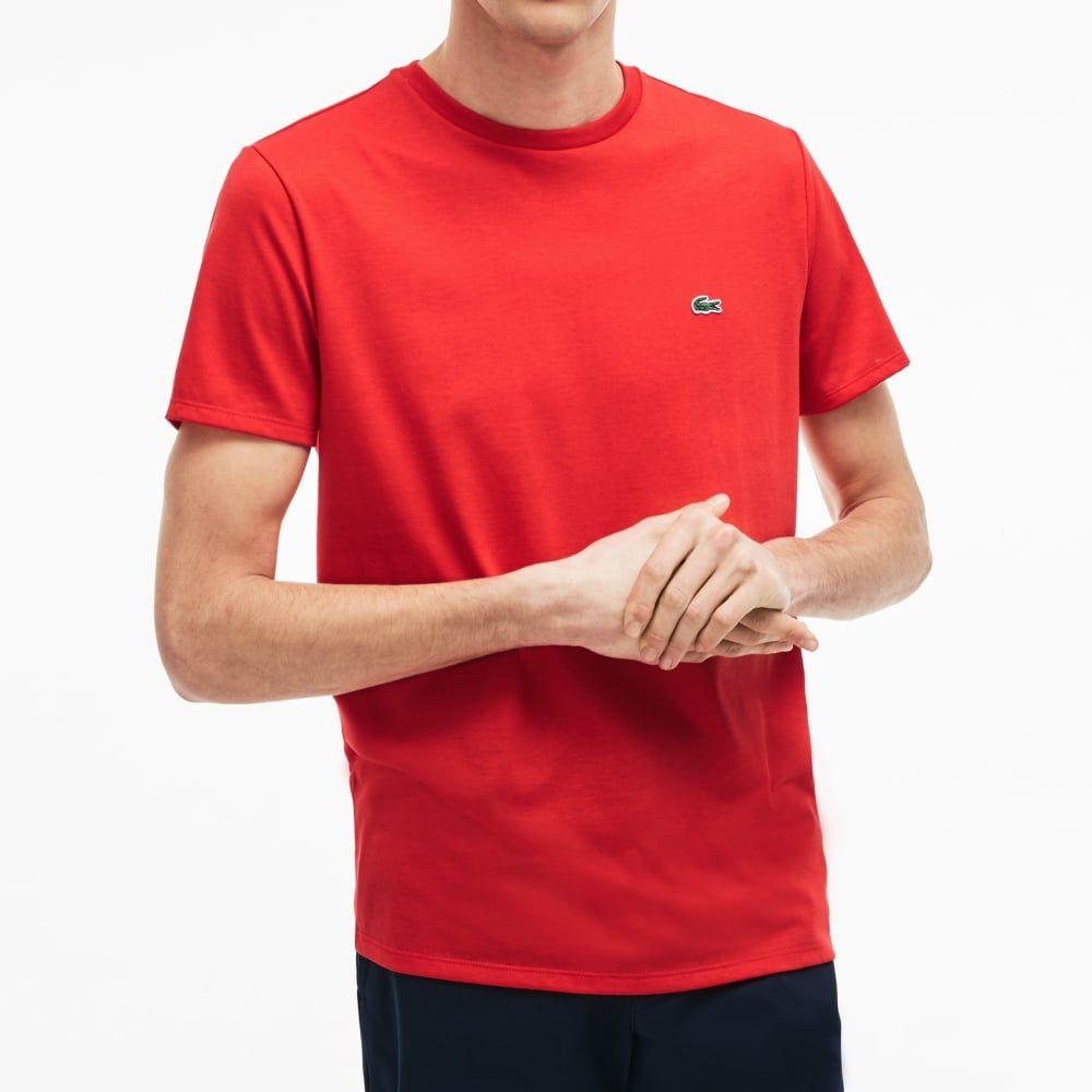 Camiseta Basica L-03 Vermelho  - Ca Brasileira
