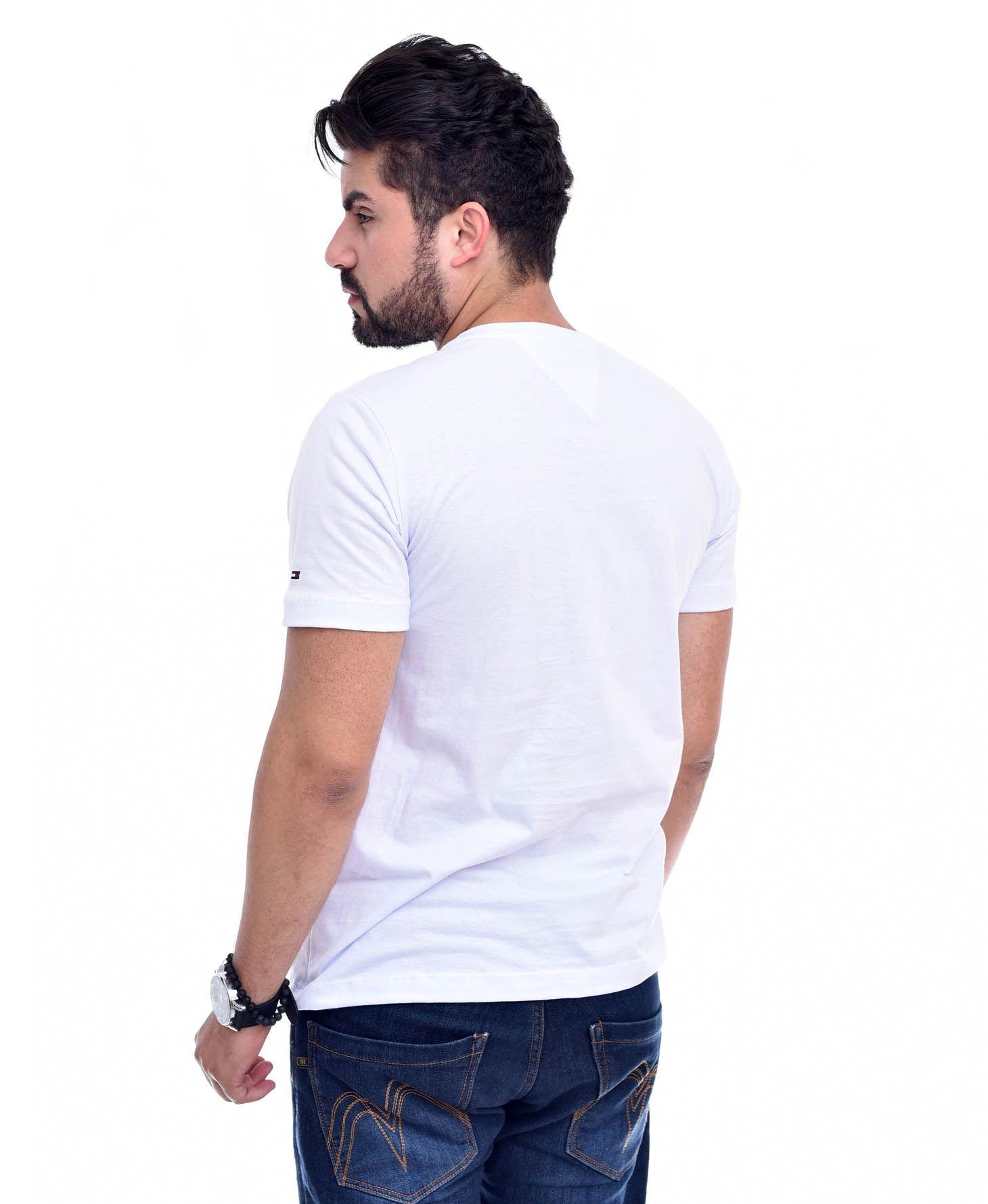 Camiseta Bolso TH Branco Top  - Ca Brasileira