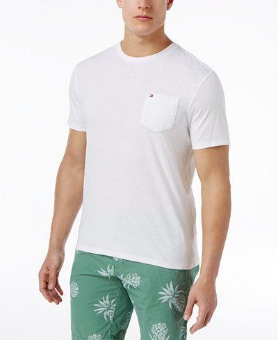 Camiseta Bolso TH Branco  - Ca Brasileira