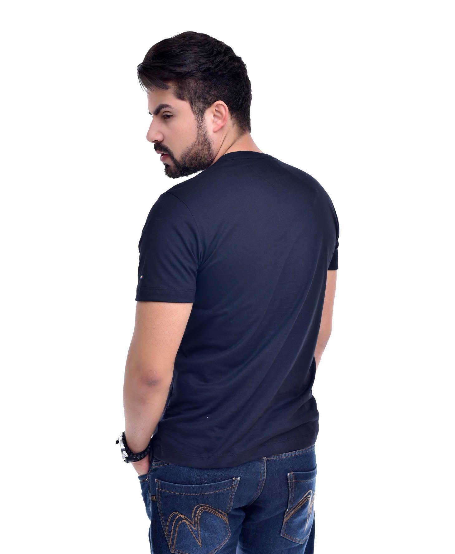 Camiseta Bolso Th Preta / Pta  - Ca Brasileira