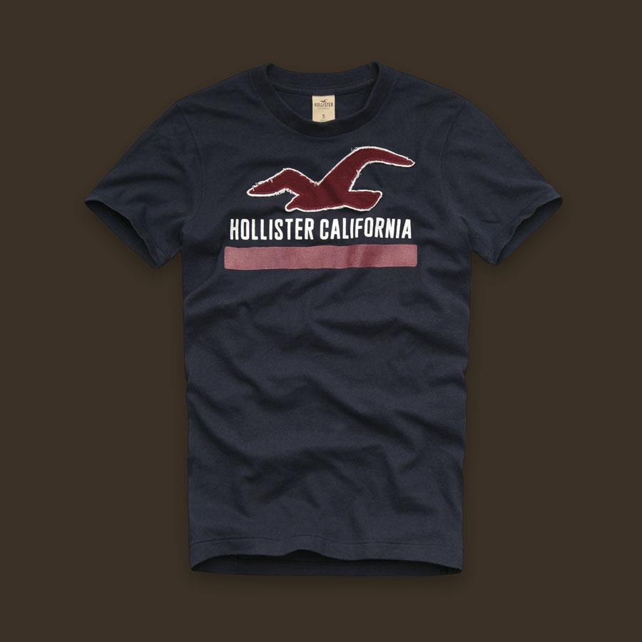 CAMISETA HOLLISTER CALIFORNIA  - Ca Brasileira