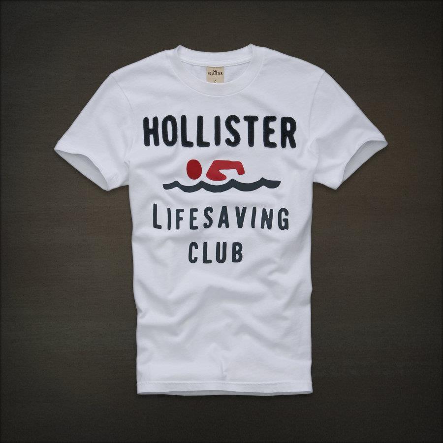 Camiseta Hollister lifesaving club  - Ca Brasileira